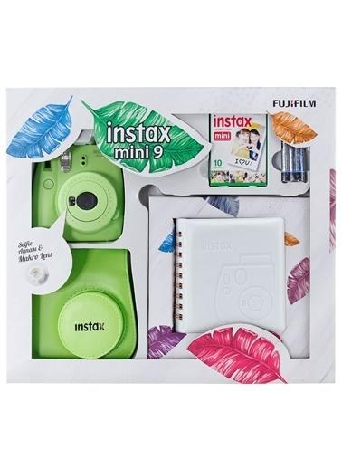 Fujifilm Instax Mini 9 Kit Açık Yeşil Yeşil